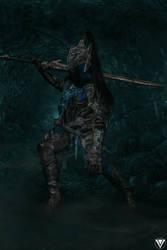 Yeliz Cosplay female Artorias from Dark Souls