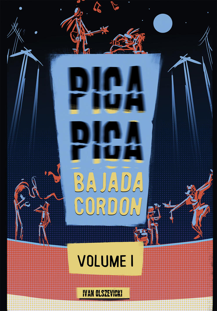 Tapa PICA PICA VOLUME I by sakya