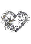 Silver Filled Heart STOCK