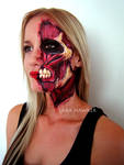 Face painting - Attack on Titan inspired