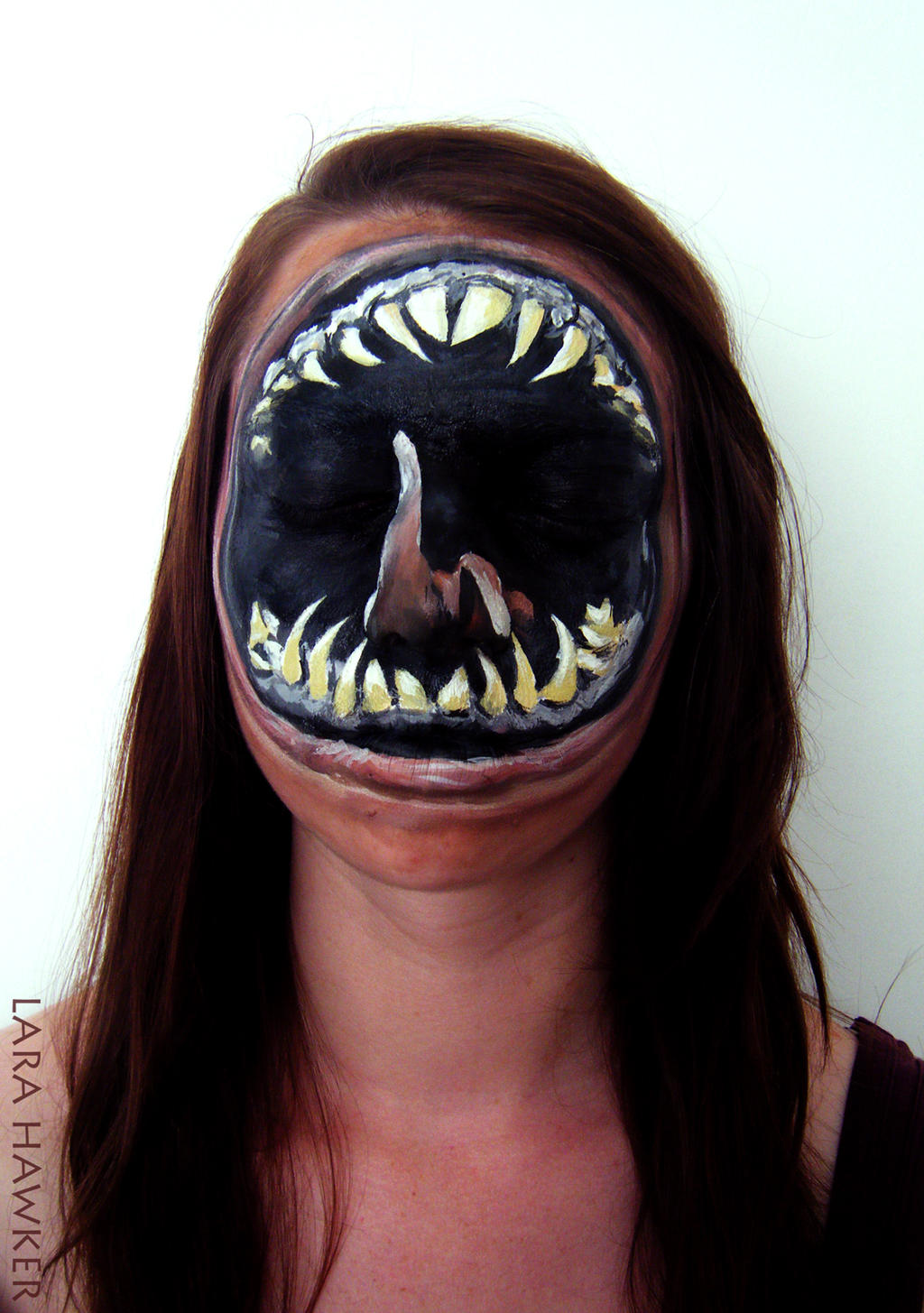 Snazaroo explore snazaroo on deviantart face painting leviathan by larahawker baditri Images