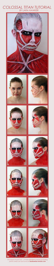 TUTORIAL - Colossal Titan makeup