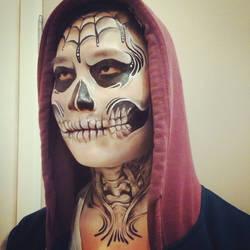 Freestyle Skull Makeup