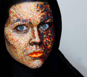 Mosaic Face Paint