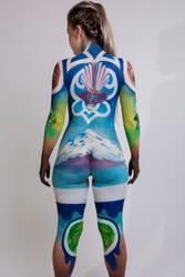 Kiwiana Bodypainting #3