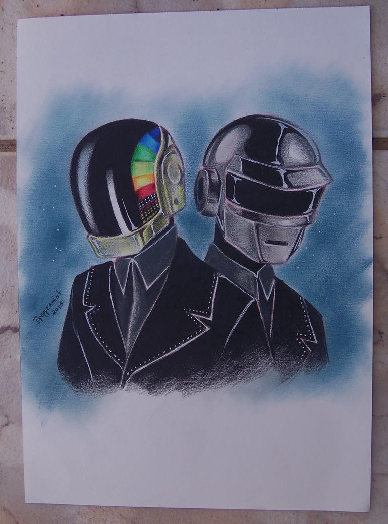 Daft Punk fanart by bpeppermintyui