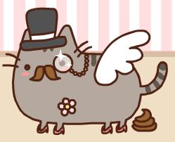 Pusheen Kitty Adoptable :D by Nilzii-Puff