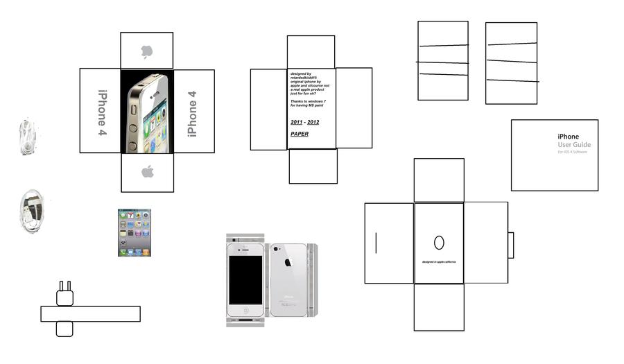 Как сделать из бумаги телефон айфон 6 видео своими руками