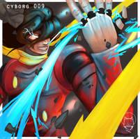Cyborg 009 by Wolfragna