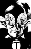 BLACK BEETLE no.1 final art by MisterHardtimes