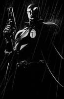 BLACK BEETLE no.2 final art by MisterHardtimes
