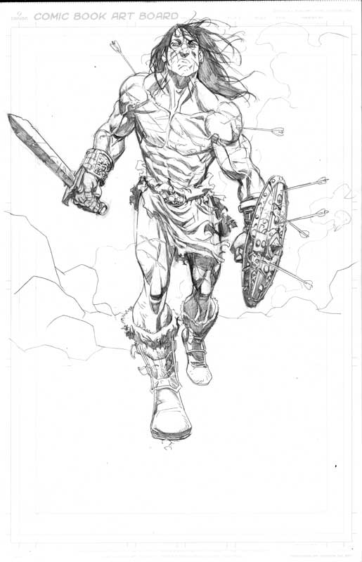 sketching for fun CONAN by MisterHardtimes