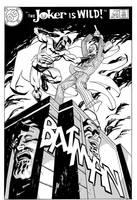 Batman mock cover by MisterHardtimes