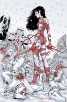 Elektra Lives Again final by MisterHardtimes