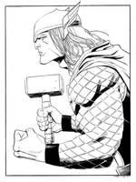 Thor by MisterHardtimes