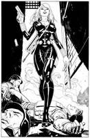 Black Widwow commission by MisterHardtimes