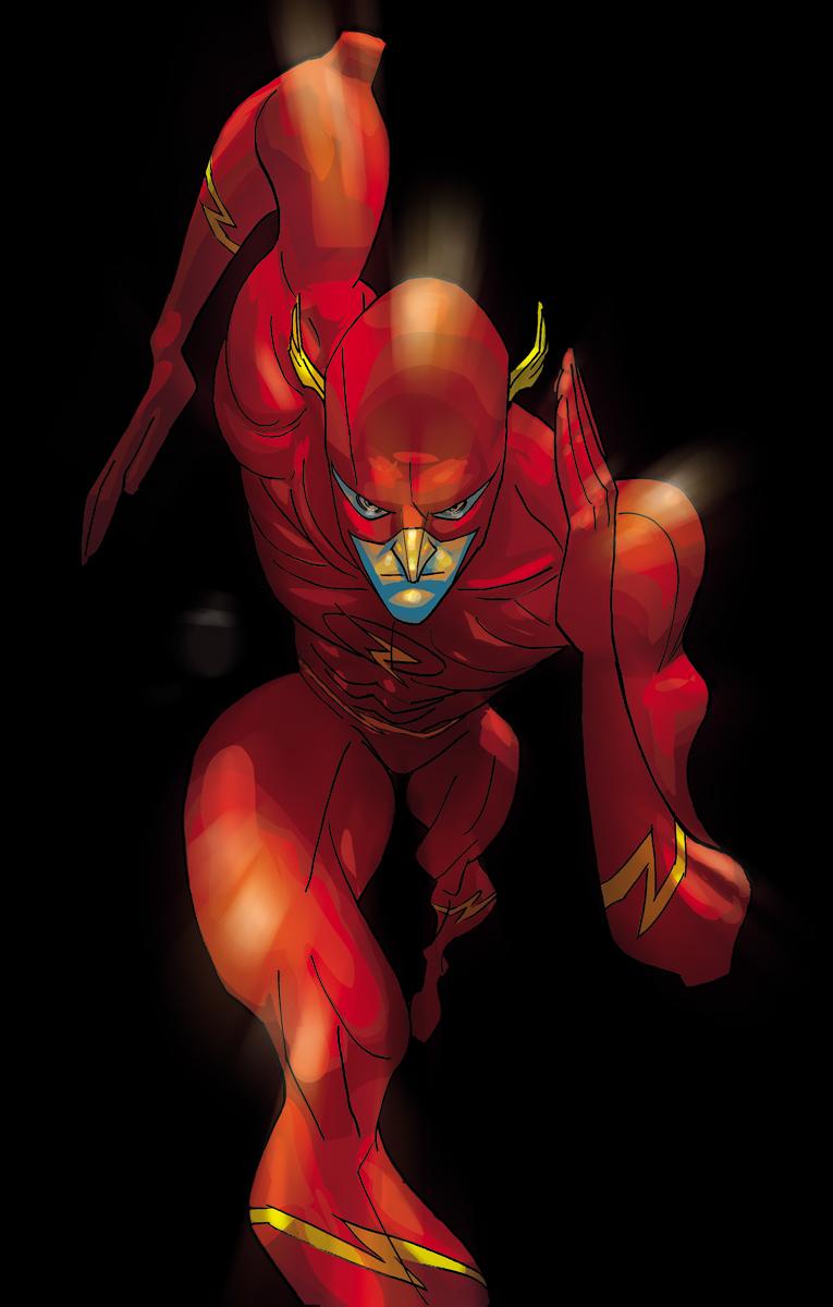 Comic Twart - The Flash by MisterHardtimes