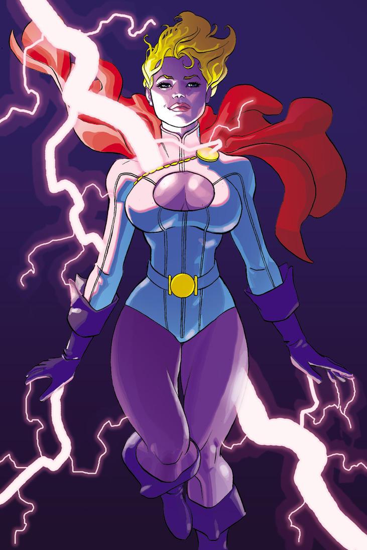 Think, that Power girl dc comics