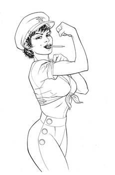 Comix Buro cover sketch three by MisterHardtimes