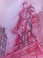 Deadpool work-in-progess 1 by MisterHardtimes