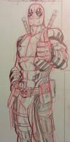 Deadpool thumbs up!