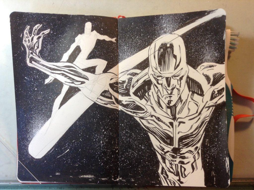 Silver Surfer by MisterHardtimes
