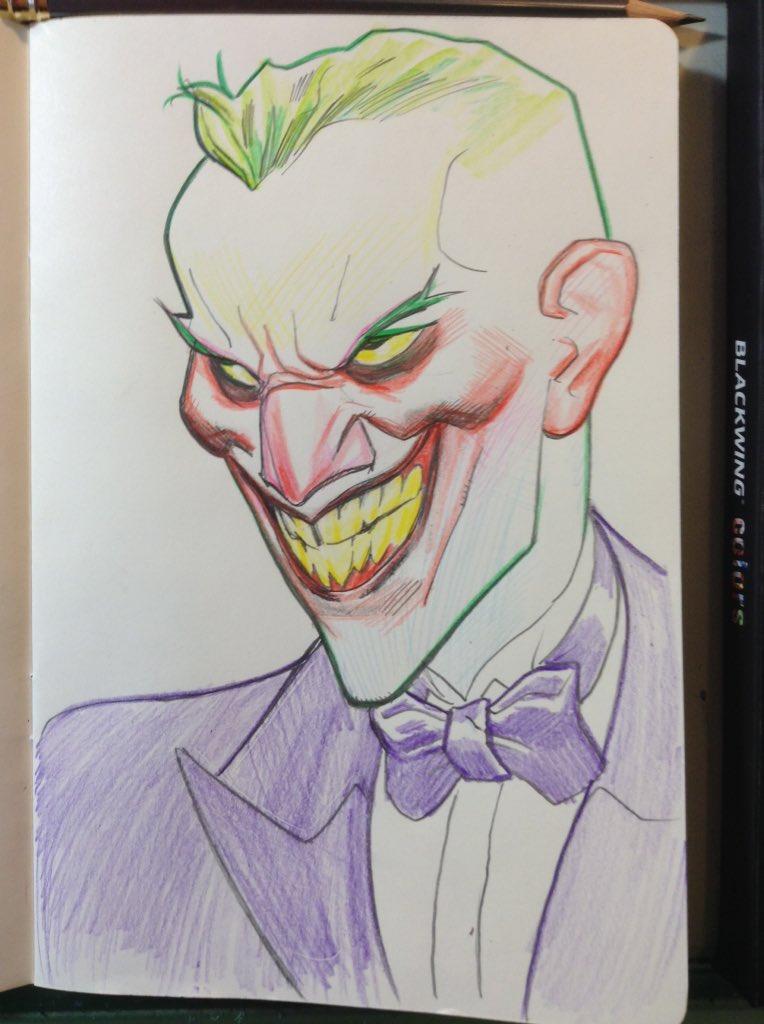 Joker sketch! by MisterHardtimes