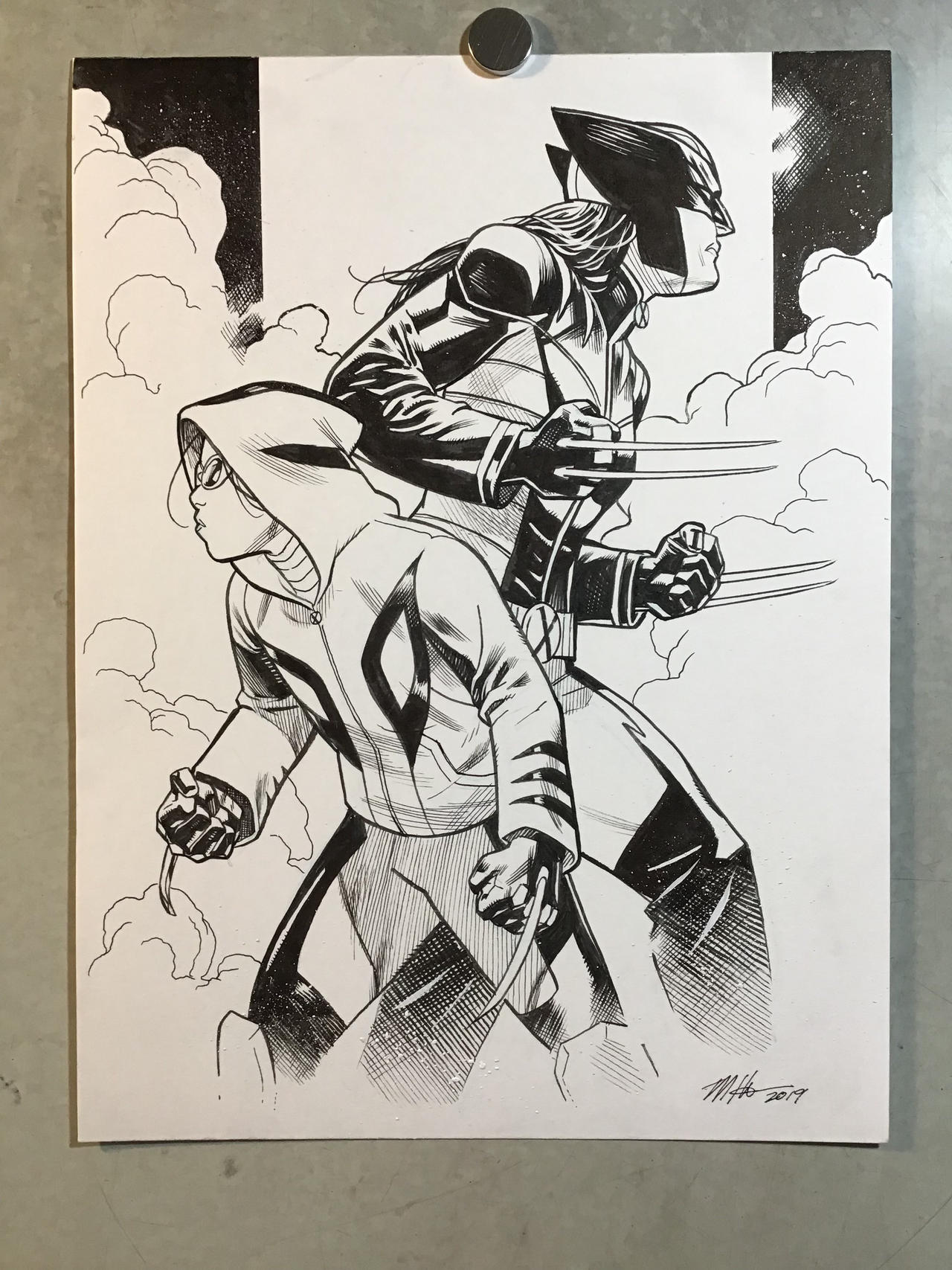 Wolverine and Honeybadger!