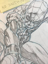 Superior Spider-man cover in progress