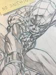 Superior Spider-man cover in progress