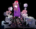 I am the purple demon