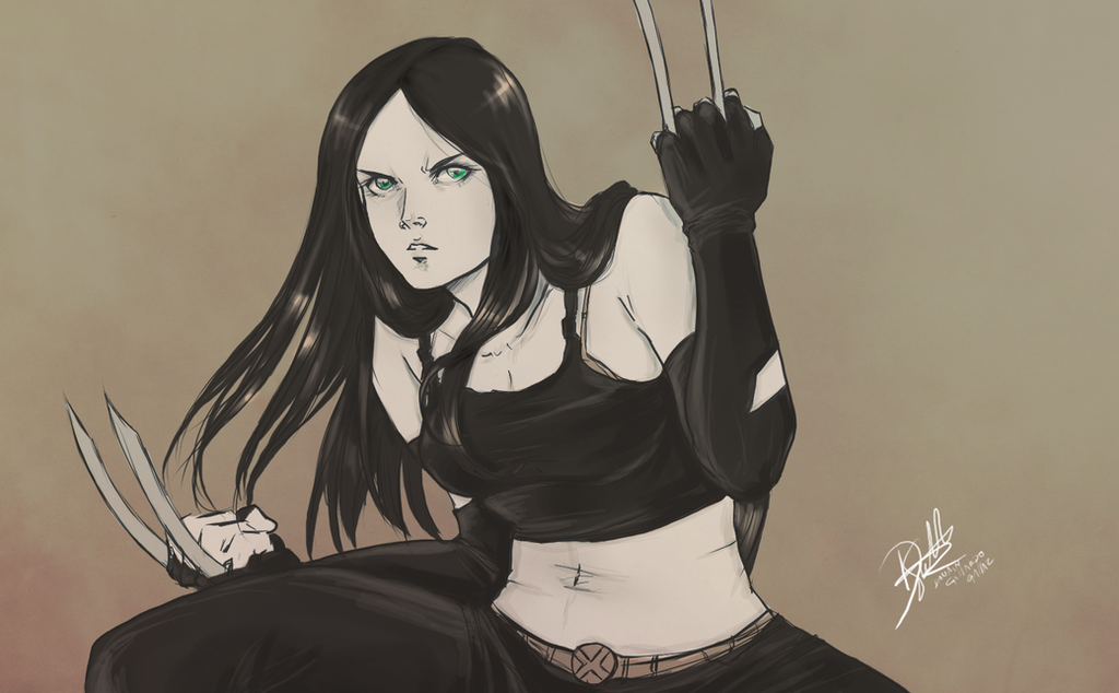 laura x-23 by Danart-comic