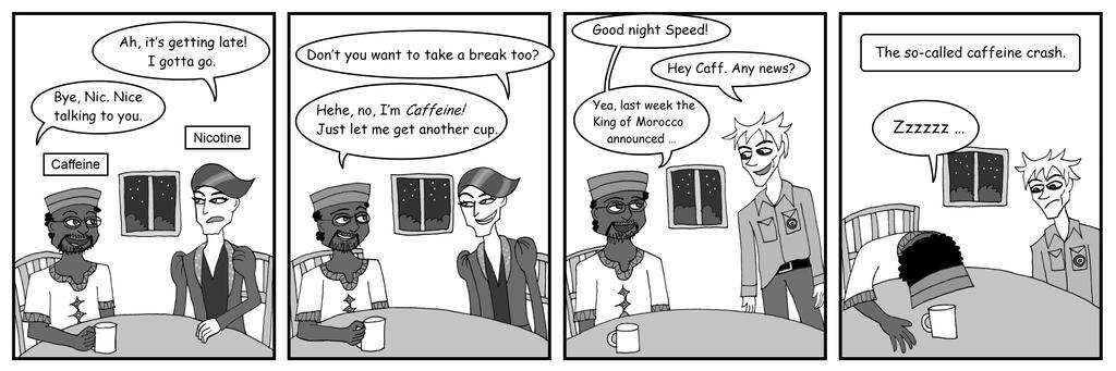 how to avoid a cafeine crash