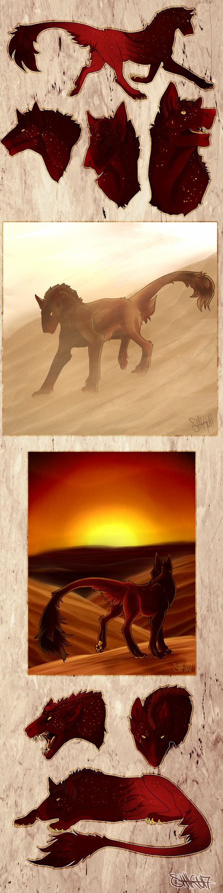 Red Desert by Smilefacekranaatti