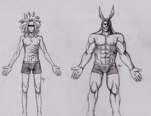 All Might Body Study