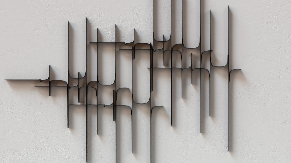 Dark soul vs. White wall #5 by ahmadasaad89