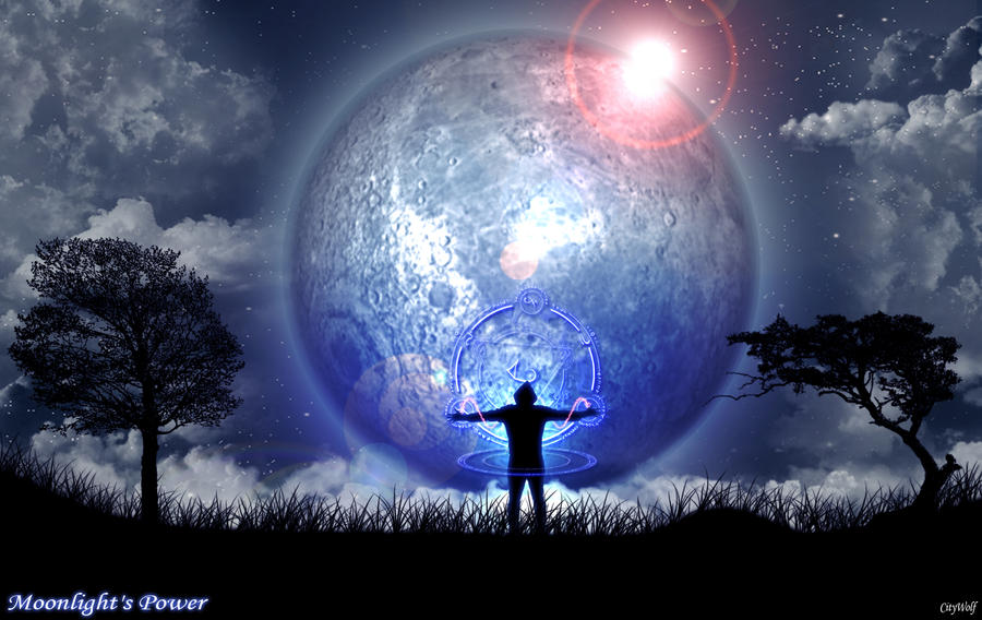 Moonlight's Power by City-Wolf on DeviantArt