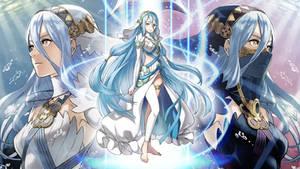 Fire Emblem Heroes Wallpaper - Azura by IncognitoZA
