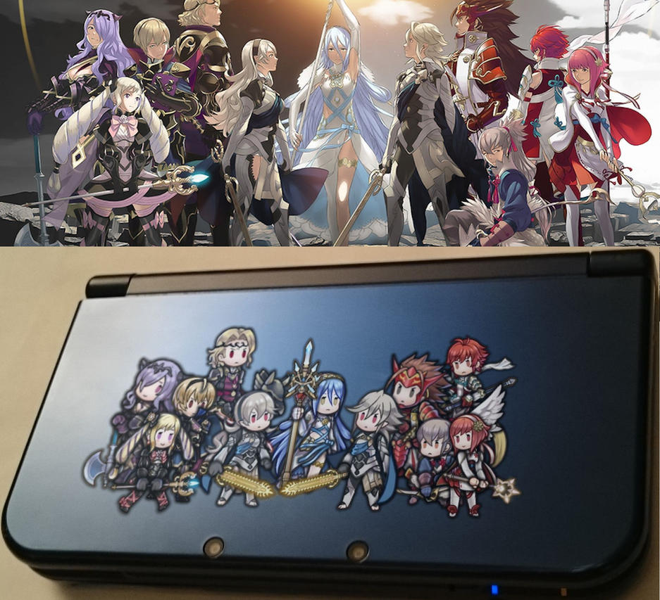 Fire Emblem Fates/Heroes Vinyl Sticker Preview by IncognitoZA