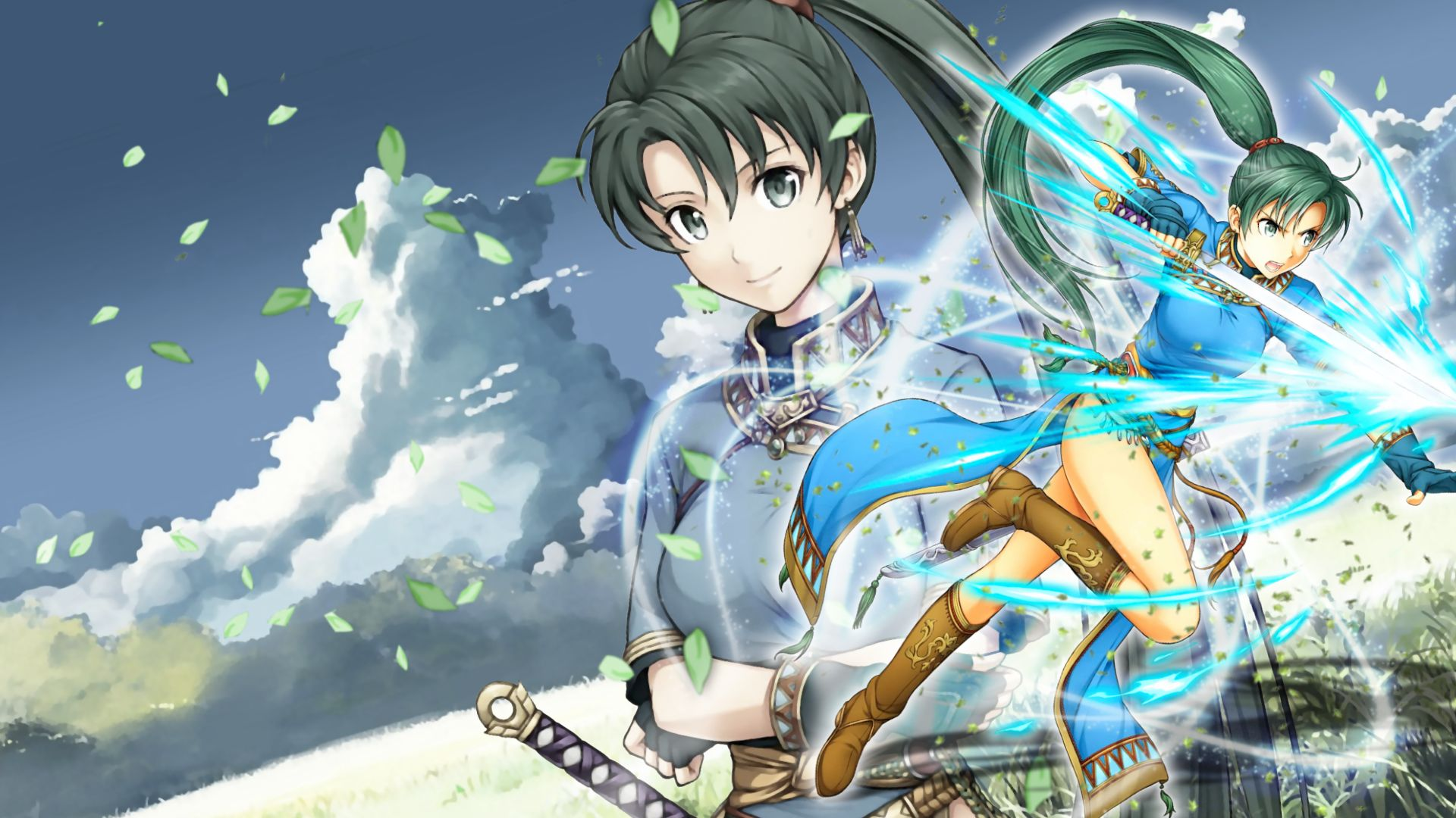 Fire Emblem Heroes Wallpaper Lyn By Incognitoza On Deviantart