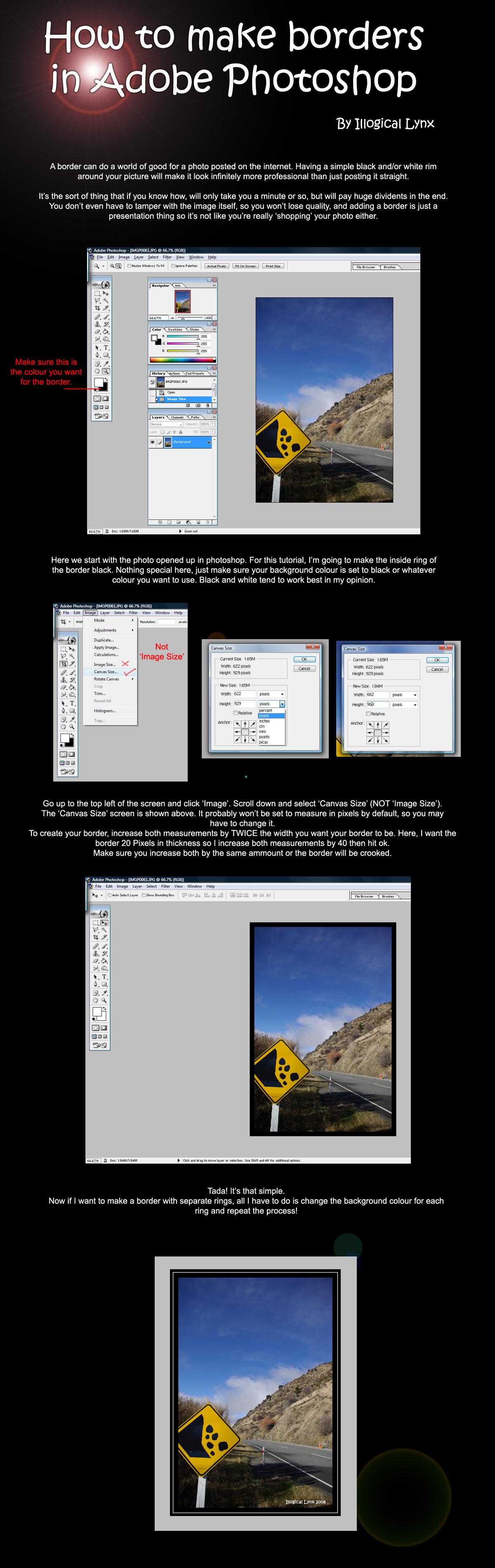 Photoshop border tutorial by illogical lynx on deviantart photoshop border tutorial by illogical lynx baditri Images