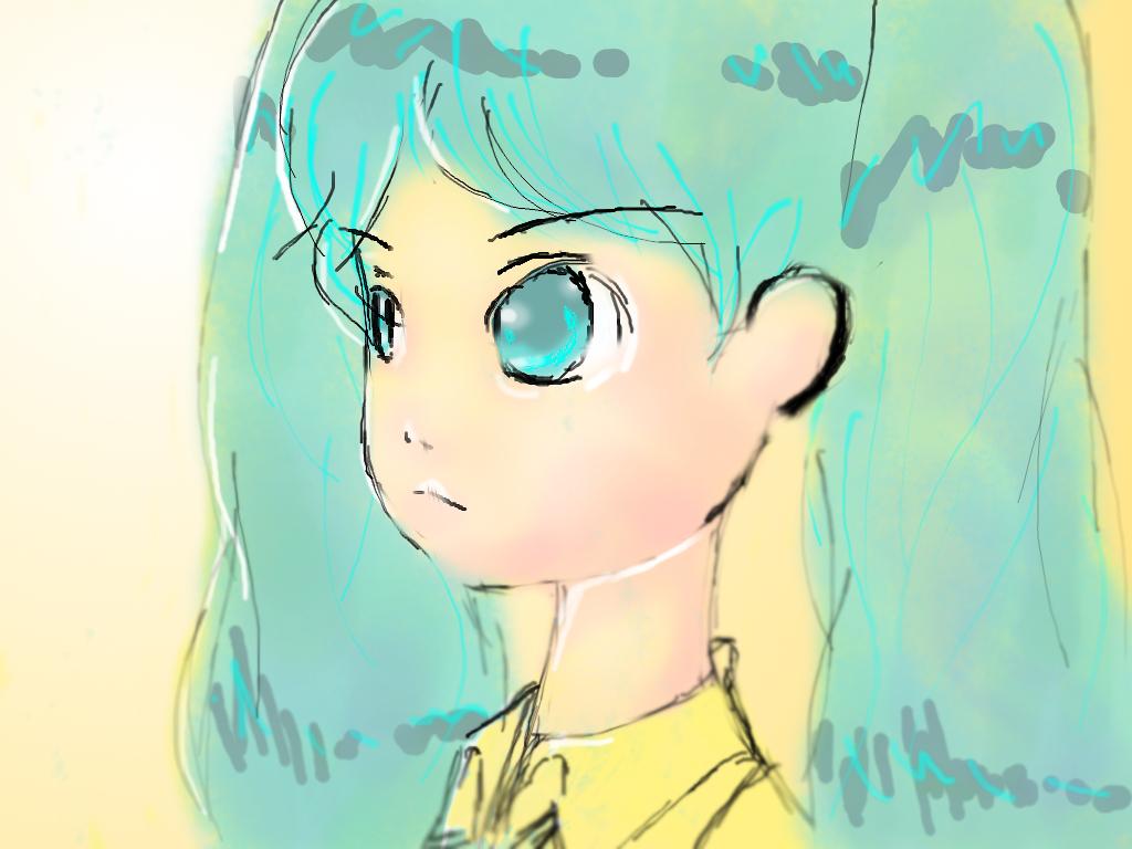 Miku Hatsune--Sunshine by ENZERUbebiTAKKUN