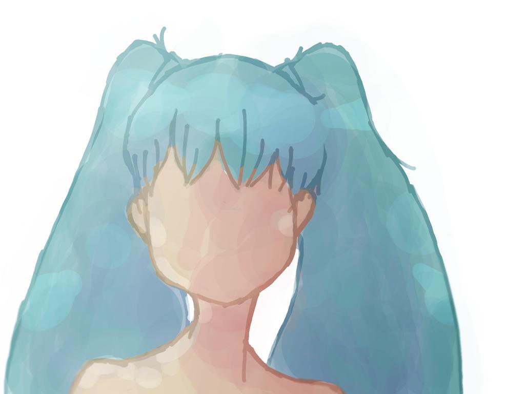 Miku Hatsune--WaterColor by ENZERUbebiTAKKUN