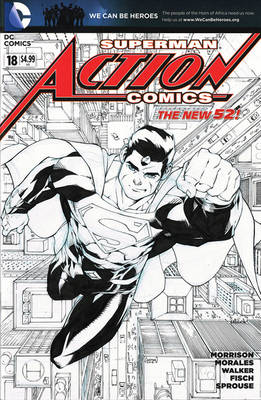 Action Comics #18 Blank Cover sketch