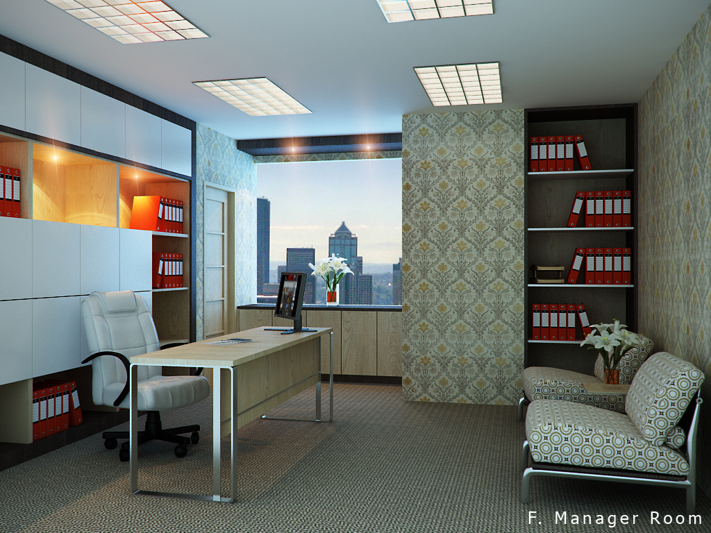 Office, manager room by CallsterShade on DeviantArt
