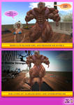 MUSCLE GIRL STORY PART 5 COMICS PREVIEW 3 by Fbbfembomb