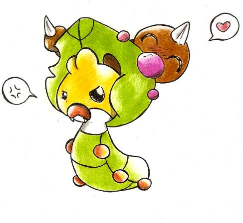 [Obrazek: New_pokemon_and_weedle_by_Nid15.jpg]