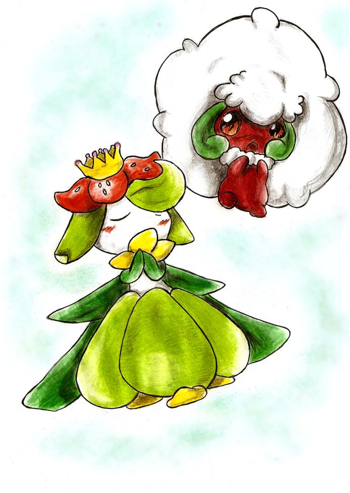 Erufuun and Doredia by Nid15
