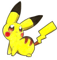 pikachu by Nid15