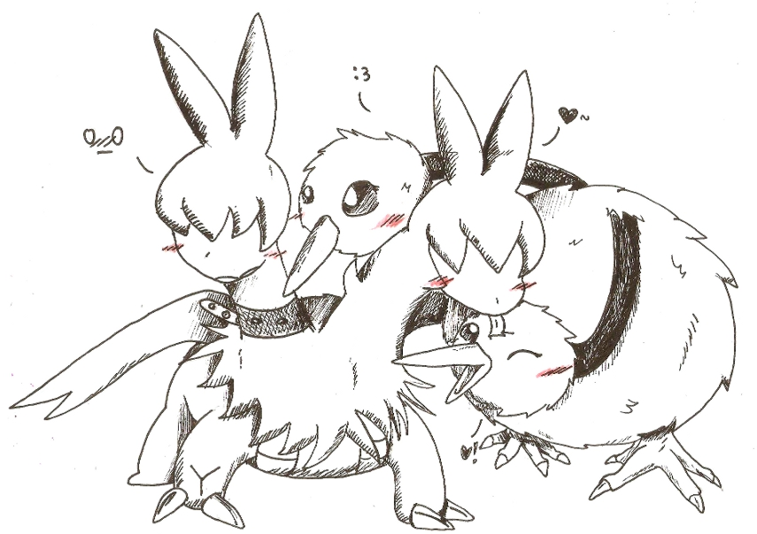 [Obrazek: doduo_and_zweilous_by_nid15-d50q3ro.jpg]